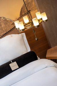 Room Bed And Ligt Detail